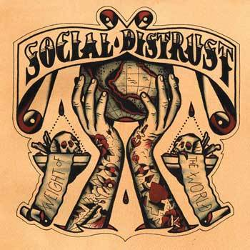 Cover SOCIAL DISTRUST, weight of the world