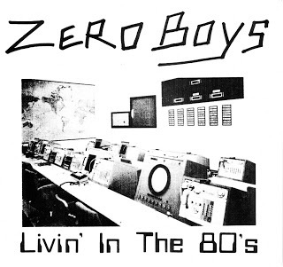 Cover ZERO BOYS, living in the 80s