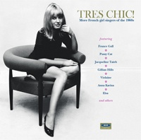 Cover V/A, tres chic! - more french girl singers of the 1960s