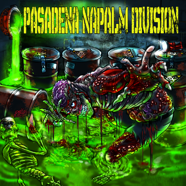 Cover PASADENA NAPALM DIVISION, s/t