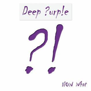 Cover DEEP PURPLE, now what