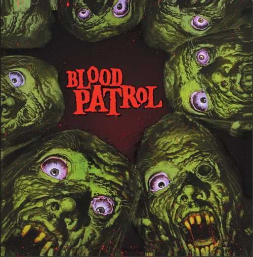 Cover BLOOD PATROL, from beyond and below