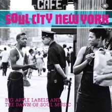 Cover V/A, soul city new york