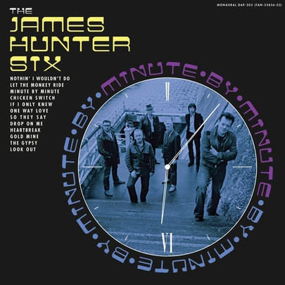 Cover JAMES HUNTER SIX, minute by minute