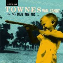 Cover TOWNES VAN ZANDT, in the beginning