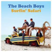 BEACH BOYS, surfin safari cover