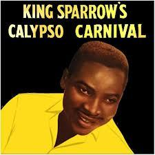 Cover KING SPARROW (MIGHTY SPARROW), king sparrow´s calypso carnival