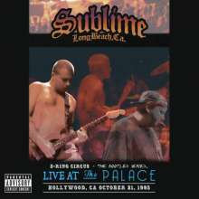 Cover SUBLIME, 3 ring circus - live at the palace