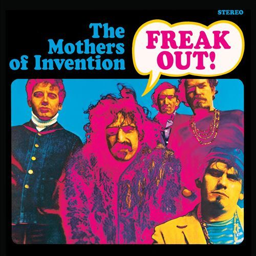 Cover FRANK ZAPPA & MOTHERS OF INVENTION, freak out!