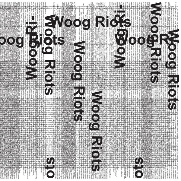 Cover WOOG RIOTS, from lo-fi to disco