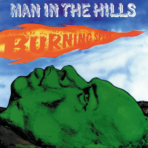Cover BURNING SPEAR, man in the hills