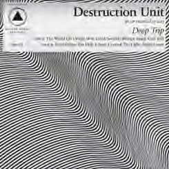 Cover DESTRUCTION UNIT, deep trip
