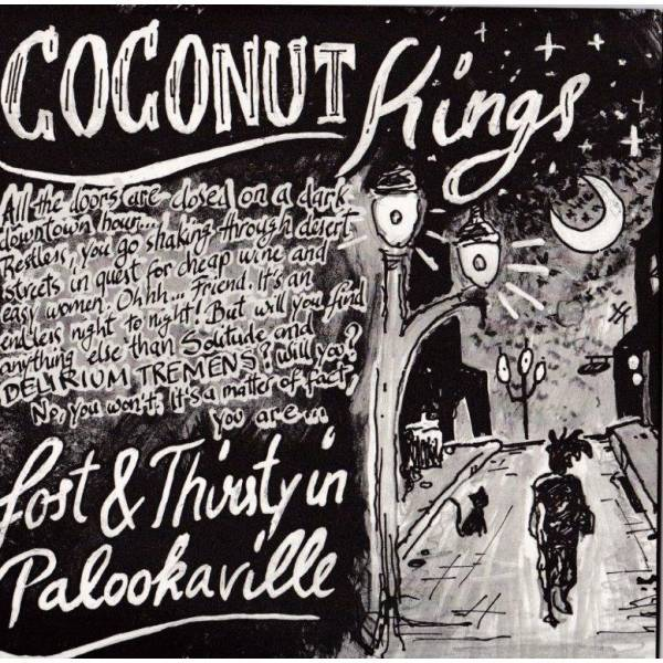 Cover COCONUT KINGS, lost & thirsty in palookaville
