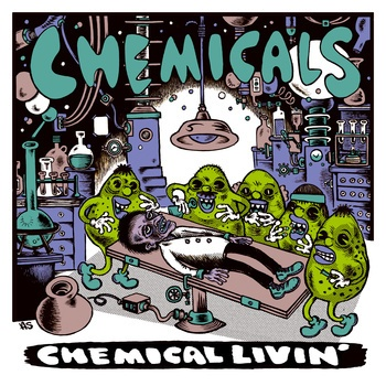 Cover CHEMICALS, chemical livin