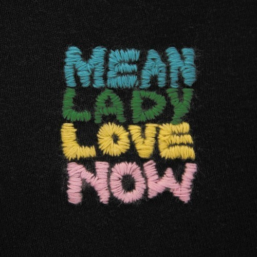 MEAN LADY, love now cover