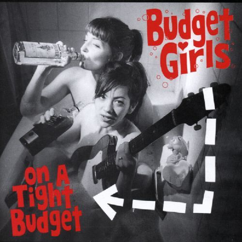 BUDGET GIRLS, on a tight budget cover