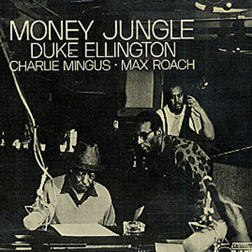Cover DUKE ELLINGTON, money jungle