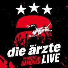 ÄRZTE, live - die nacht der dämonen cover