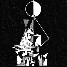 Cover KING KRULE, 6 feet beneath the moon