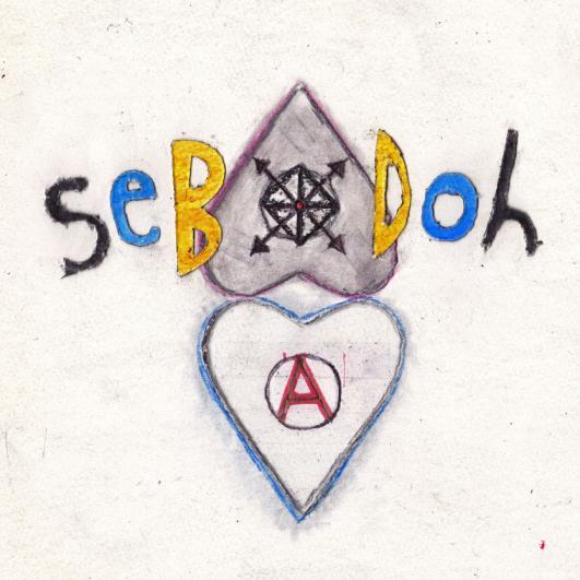 SEBADOH, defend yourself cover