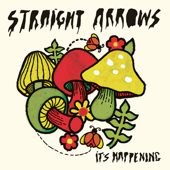 STRAIGHT ARROWS, it´s happening cover