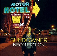 SUNDOWNER, neon fiction cover