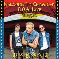 D.O.A., welcome to chinatown cover