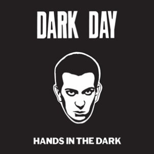 Cover DARK DAY, hands in the dark