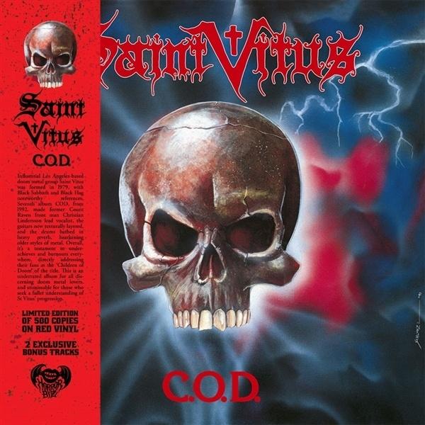 SAINT VITUS, c.o.d. cover
