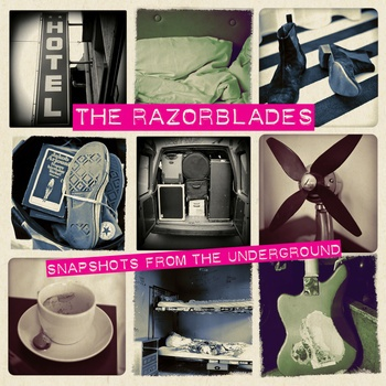 RAZORBLADES, snapshots from the underground cover