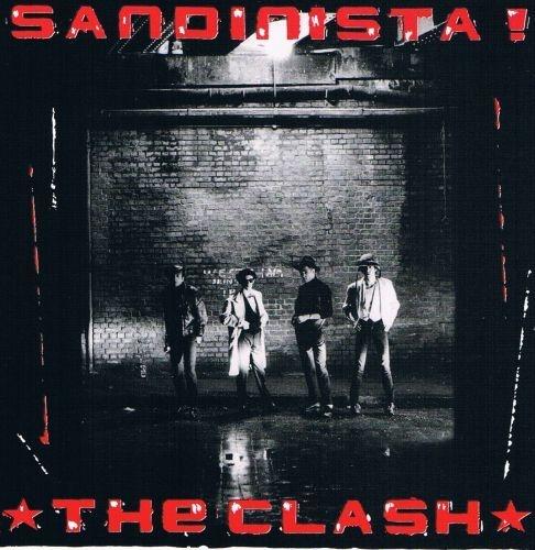 CLASH, sandinista! cover