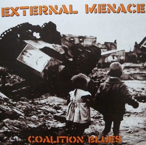 Cover EXTERNAL MENACE, coalition blues