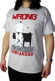 Cover NOMEANSNO, man ironing_white