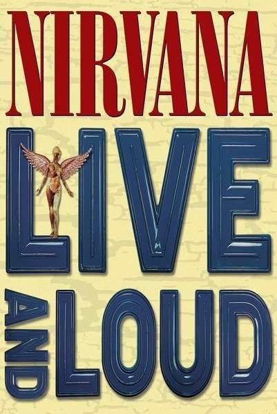 NIRVANA, live and loud cover