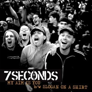 Cover 7 SECONDS, my aim is you
