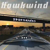Cover HAWKWIND, spacehawks