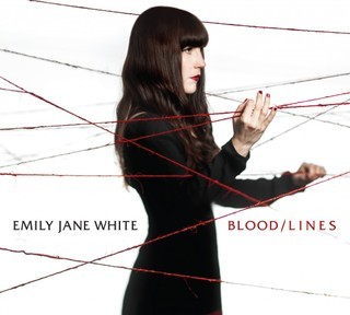 EMILY JANE WHITE, blood / line cover