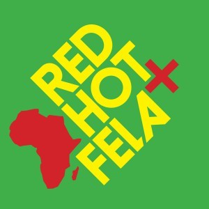 Cover V/A, red, hot & fela