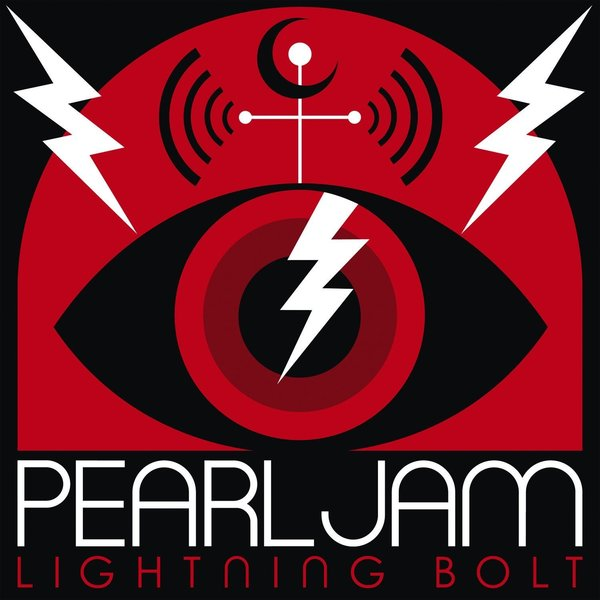 Cover PEARL JAM, lightning bolt