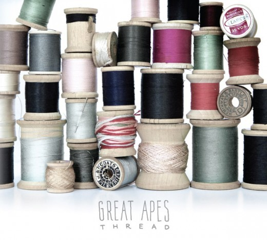 GREAT APES, thread cover