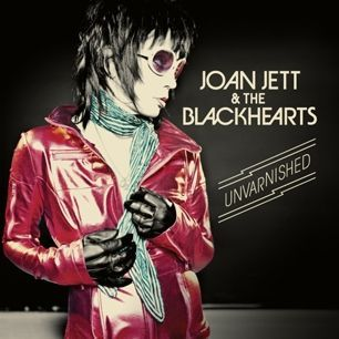 JOAN JETT & THE BLACKHEARTS, unvarnished cover
