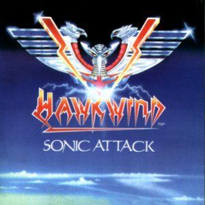 Cover HAWKWIND, sonic attack