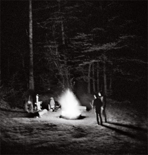 Cover THE MEN, campfire songs ep