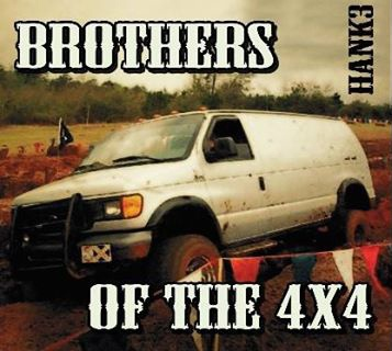 Cover HANK 3, brothers of the 4x4