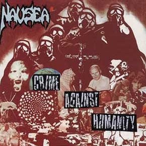 Cover NAUSEA, crime against humanity