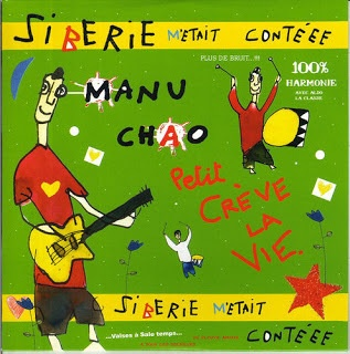 Cover MANU CHAO, siberie m´etait conee