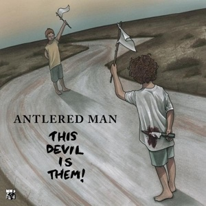 ANTLERED MAN, this devil is them cover