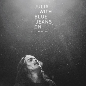 MOONFACE, julia with blue jeans on cover