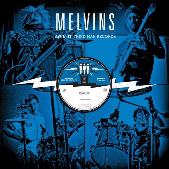 Cover MELVINS, third man live 05-30-2013