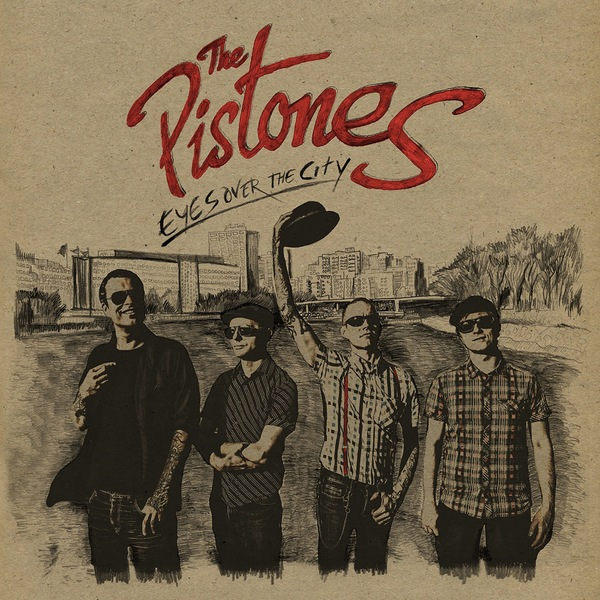 PISTONES, eyes over the city cover